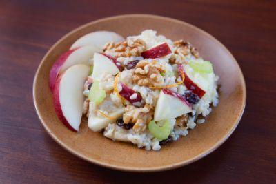 Ovocný šalát s ryžou |