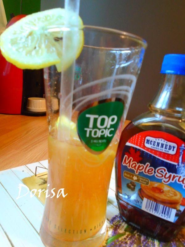 Detoxikačná limonáda z javorového sirupu |