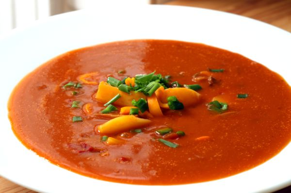 Paradajkovo-zemiaková polievka Minestrone |