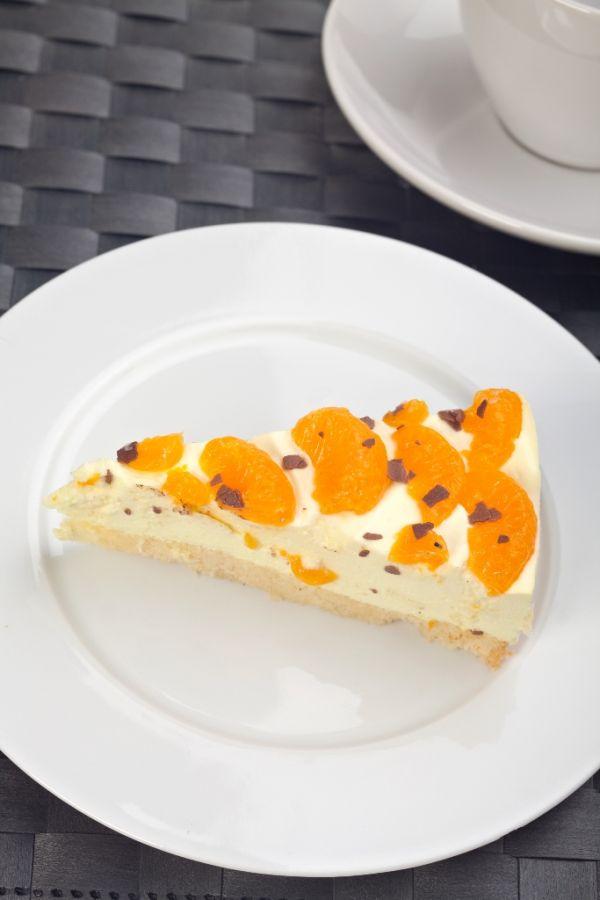 Mandarínkový cheesecake |