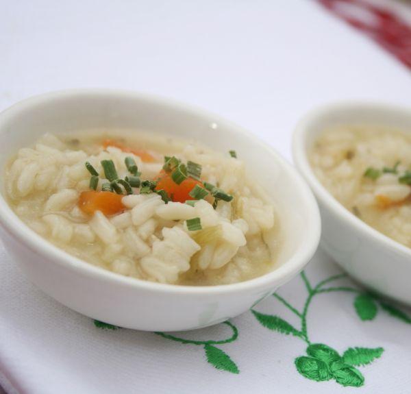 Rýchla ryžová polievka |