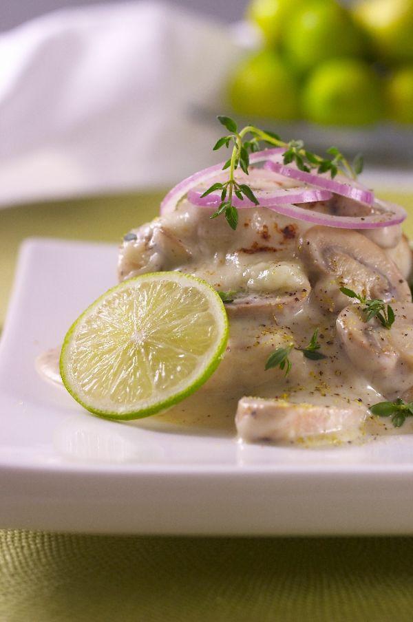 Rybie fílé na masle s bylinkami |