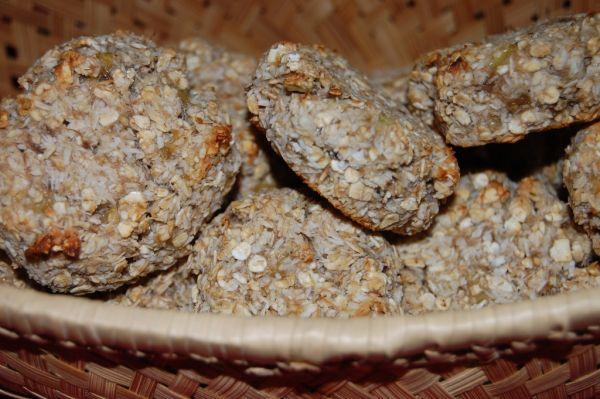 Banánovo-kokosové cookies z ovsených vločiek bez ...