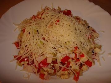 Zeleninový salát s fotu  Recepty na každý den
