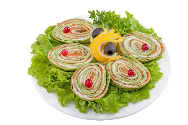 Syrová roláda s bylinkami |