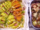 Pestré zemiakové vejáre