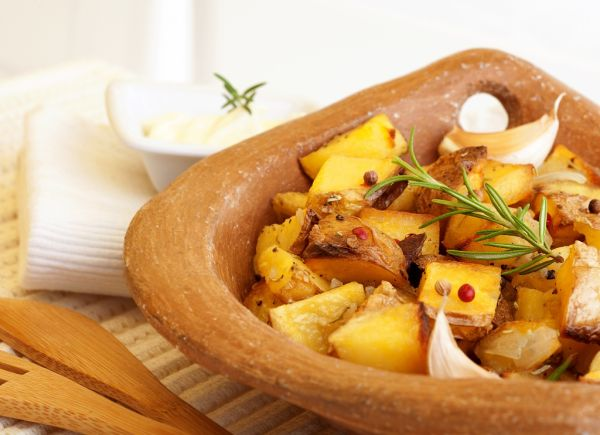 Pečené zemiaky s bylinkami  