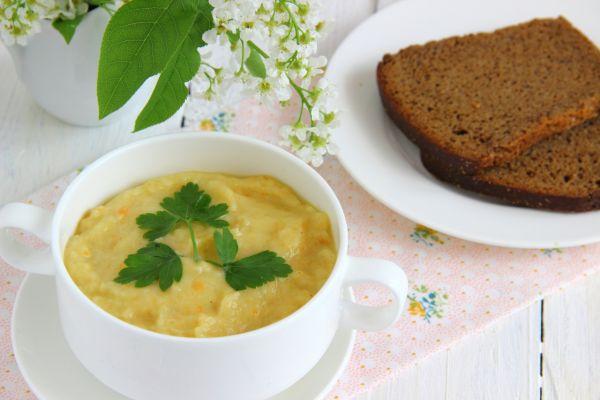 Karfiolová polievka pre dojčatá |