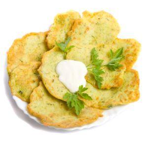 Zemiakové placky bez zemiakov |
