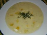 Kôprovo zemiaková polievka
