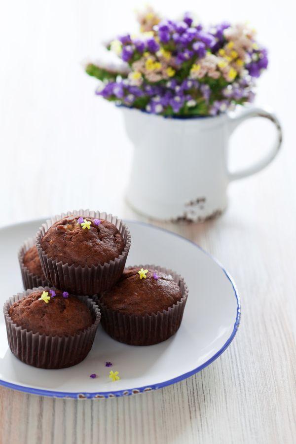 Čokoládovo-banánové muffiny |