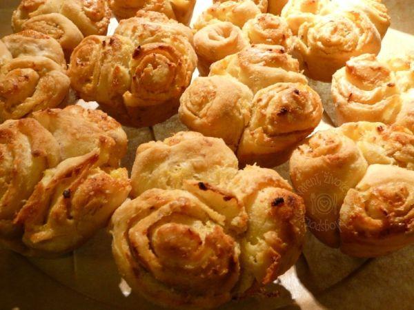 Cesnakové muffiny |