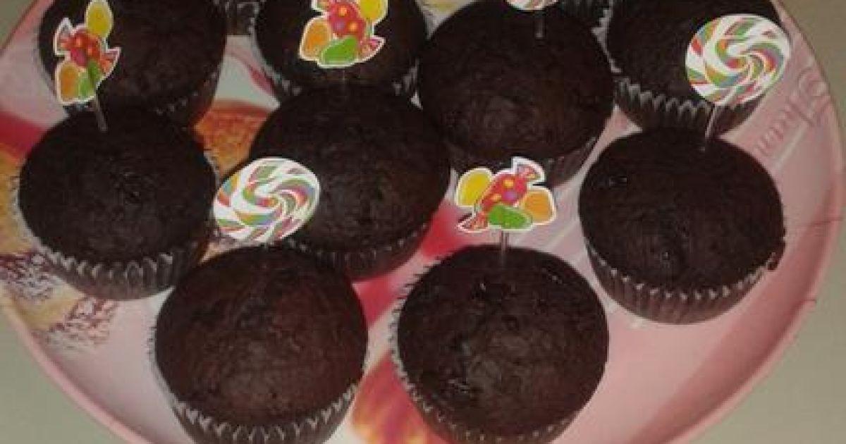 Čokoládovo škoricové muffiny, fotogaléria 1 / 1.