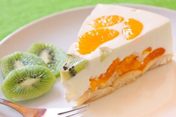 Tvarohová torta s ovocím |