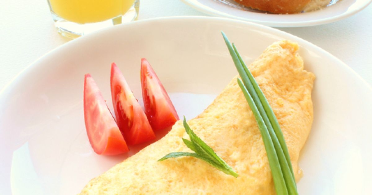 Klasická francúzska omeleta, fotogaléria 1 / 1.