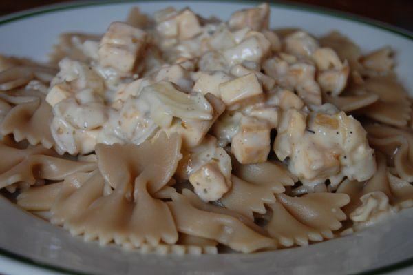 Cestoviny s tofu |