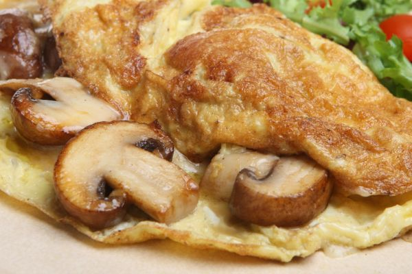 Hubová omeleta |
