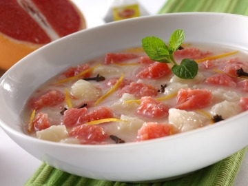 Citrusová jogurtová polévka  Recepty na každý den