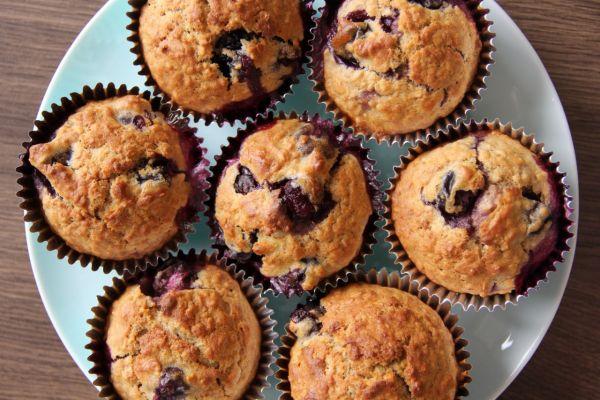 Čučoriedkové muffiny |