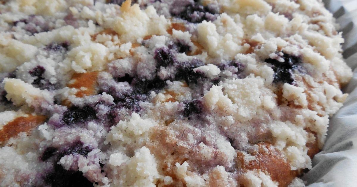 Hrnčekový čučoriedkový koláč, fotogaléria 1 / 1.