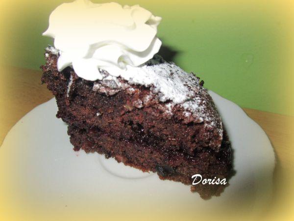 Tmavý koláčik s džemom |