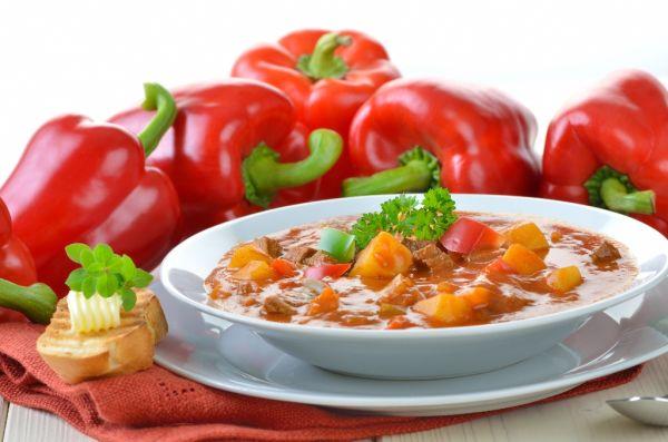 Ostrá gulášová polievka |