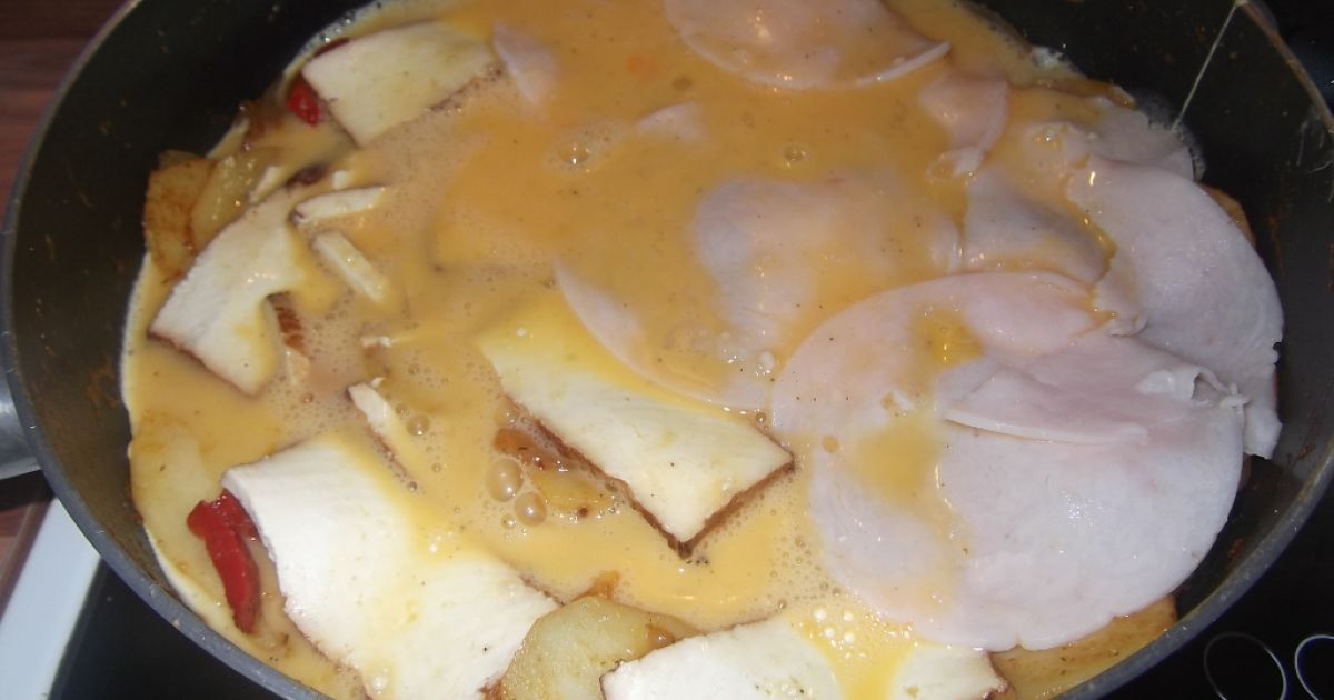 Zemiakovo-vajíčková omeleta, fotogaléria 9 / 10.