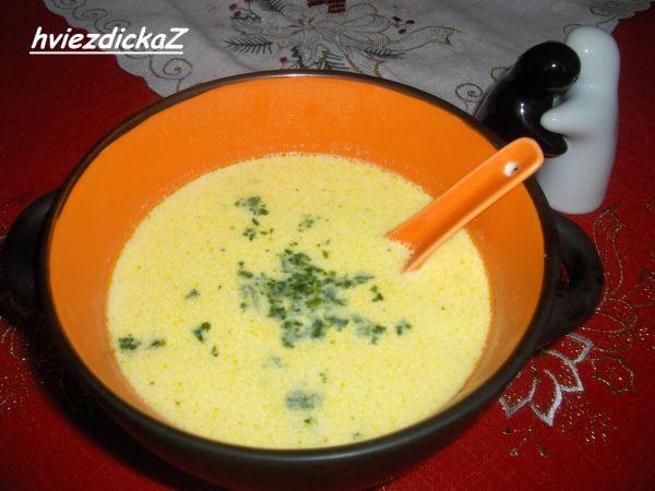 Hydinová krémová polievka |