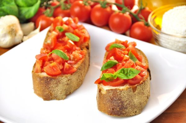 Bruschetta s paradajkami |