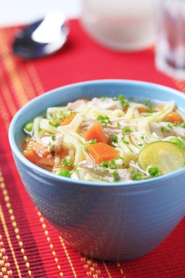 Kuracia zeleninová polievka s bazalkou |