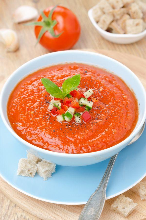 Studená polievka Gazpacho |