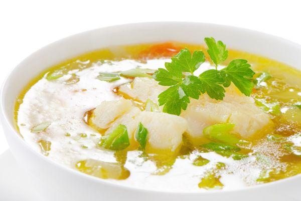 Zeleninová rybacia polievka |