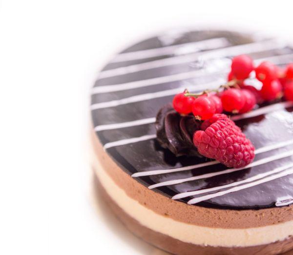 Čokoládovo-tvarohový zákusok |