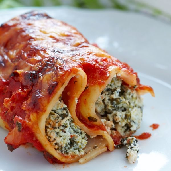Cannelloni s paradajkovou omáčkou |
