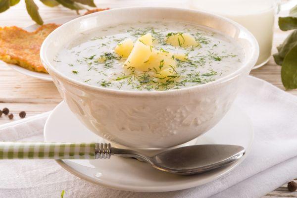Kôprová polievka so zemiakmi |