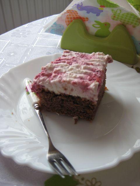 Malinový koláč |
