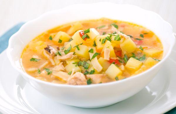 Moldavská kuracia polievka |
