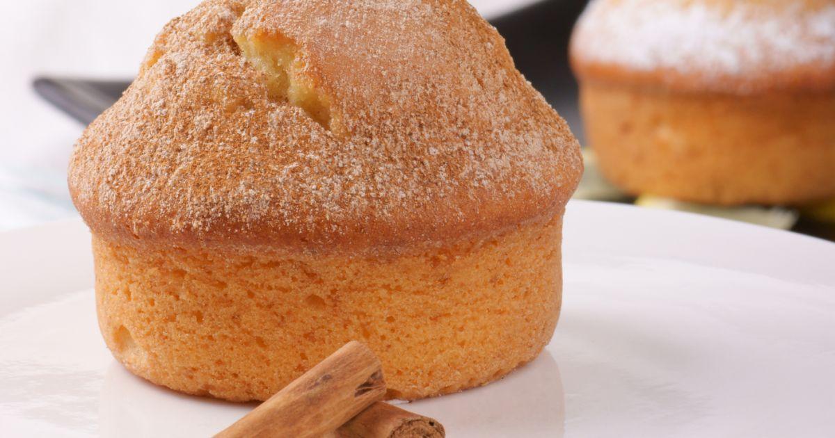 Bezlepkové škoricové muffiny, fotogaléria 1 / 1.