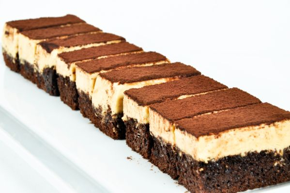 Čokoládová koláč s Nutellou a citrónovým krémom |