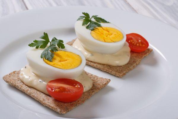 Vajcové jednohubky |