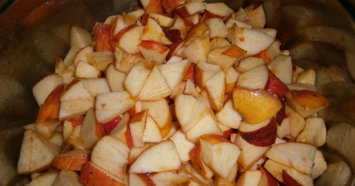 Jablkový nepečený koláč, fotogaléria 2 / 9.
