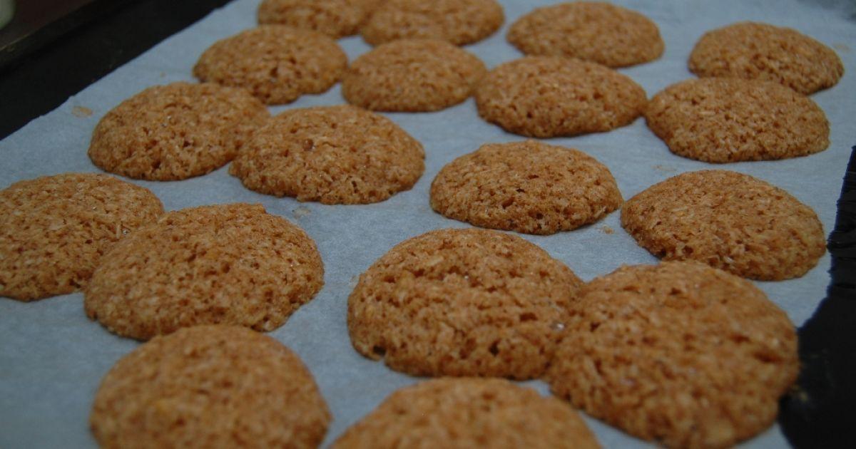 Kokosovo-citrónové špaldové sušienky, fotogaléria 9 / 9.