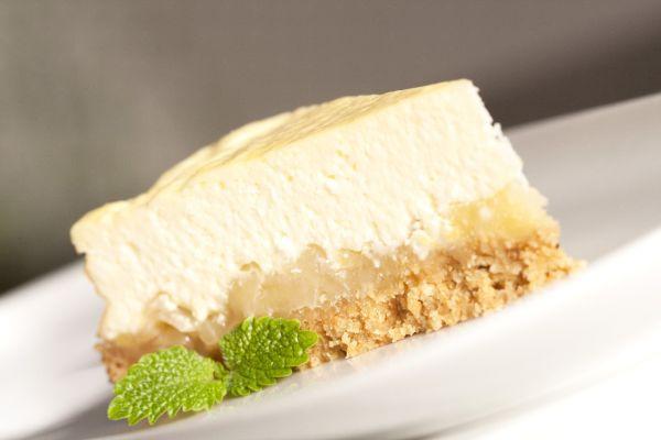 Jablkový cheesecake |