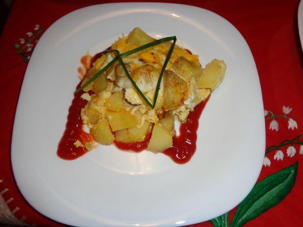 Francúzske zemiaky s perinkou |
