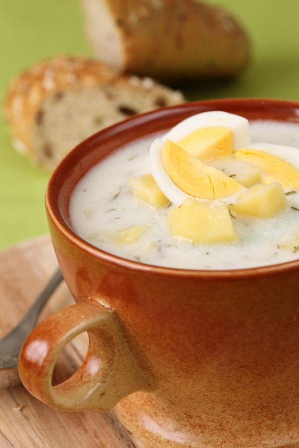 Smotanová zemiaková polievka  