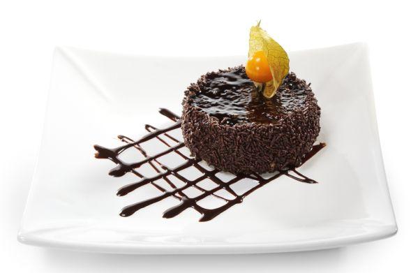 Jemné čokoládové tortičky |