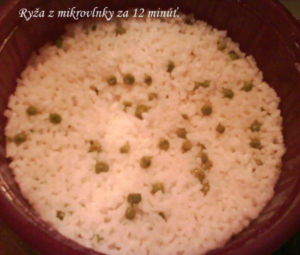 Ryža z mikrovlnky za 12 minút |