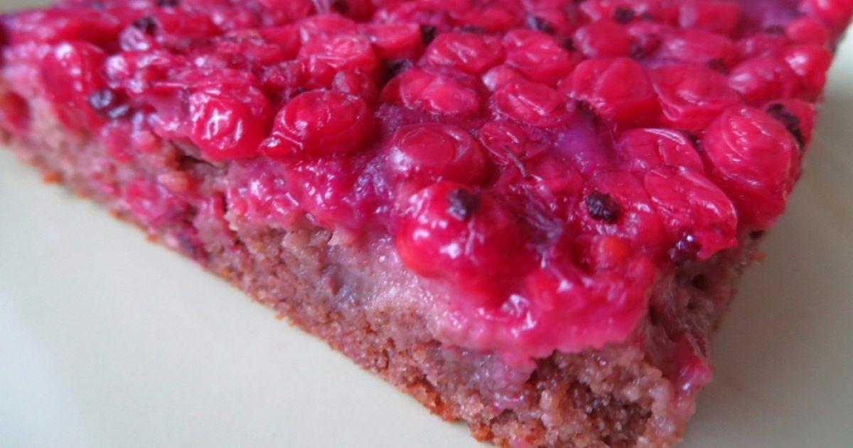 Obrátený perníkový koláč s ríbezľami, fotogaléria 1 / 8.