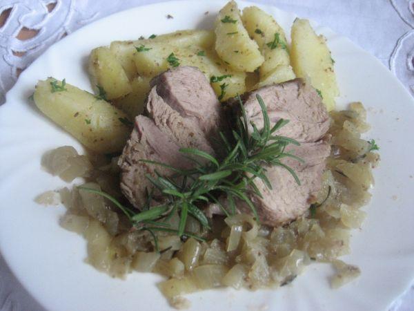Šťavnaté pečené mäso |