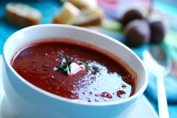 Cviklová polievka so zázvorom |